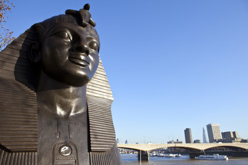 Sphinx along London Embankment