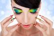 Luxury fashion style, manicure, cosmetics and make-up