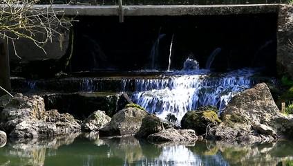 Wasser Steine Natur / Video Full Hd
