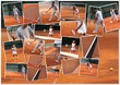 Tennis collage