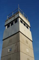 Wachturm der alten DDR - Grenze 2