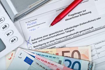 Fragebogen Steuer