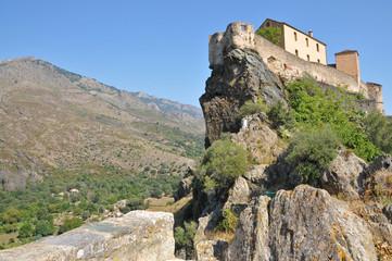 Castle on Corsica Cliff