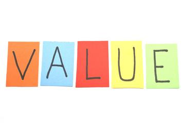 Value Paper Concept