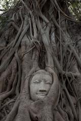 Sandstone Buddha's Face