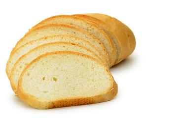 The cut bread