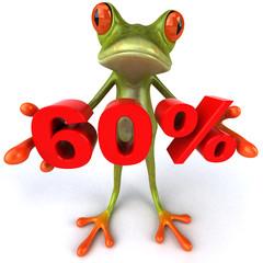 Grenouille et 60%