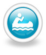 "Light Blue Icon ""Canoeing"""