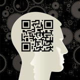 QR Code with heart