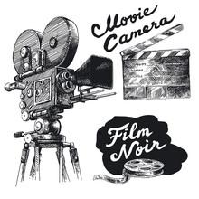 film main caméra originale dessinée collection