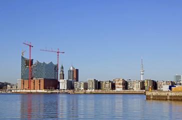 Hamburg: Neue HafenCity mit Elbphilharmonie