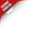 Seitenecke rot links FORMAT FAMILIAL