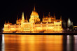 Budapest - Hungarian parliament.