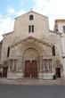 devanture de Saint Trophime