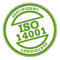 ISO 14001 Stempel