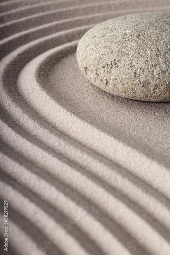 zen garden © kikkerdirk