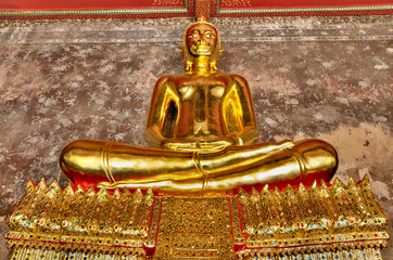 Big Buddha statue at Bangkok Thailand