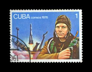 First soviet astronaut Yury Gagarin, space-vehicle site,shuttle