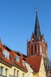 Dächer mit Kirchturm