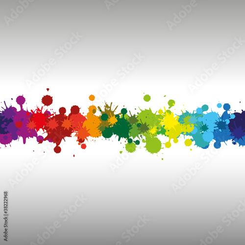 Canvas Vormen DROPS12