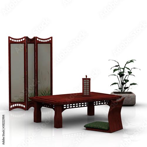 japanische m bel stockfotos und lizenzfreie bilder auf. Black Bedroom Furniture Sets. Home Design Ideas