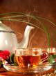 tè caldo aromatizzato