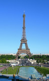 Landmark image of Eiffel Tower in Paris, France poster