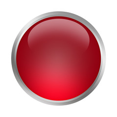 button rot blanko