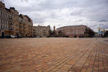 St. Sophia square in Kiev