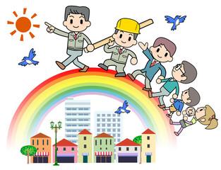 Rainbow Construction company