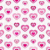 Cutout Heart Seamless Tile