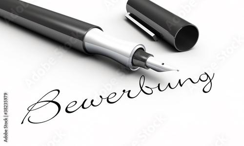 Bewerbung -  Stift Konzept