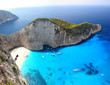 Navagio Beach with shipwreck in Zakynthos, Greece