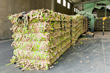 Recycling of waste paper