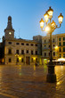 market square and Casa Pinyol