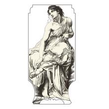 Muse de la danse : Terpsichore