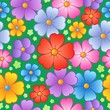Flowery seamless background 6