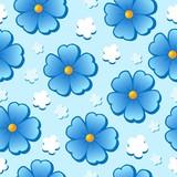 květinové bezešvé pozadí 7