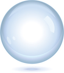 Floating Glass Orb