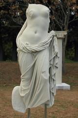sculpture of aphrodite in claros in turkey