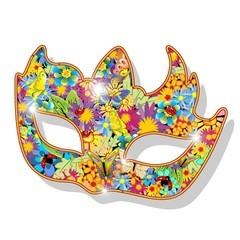 Maschera Carnevale Primavera-Springtime Carnival Mask