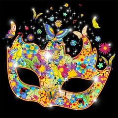 Maschera Carnevale Primavera-Springtime Carnival Mask-2