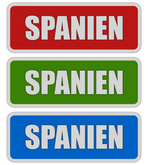 3 Sticker rgb oc SPANIEN