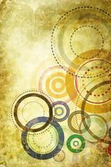 abstract circle texture