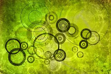 green circle art