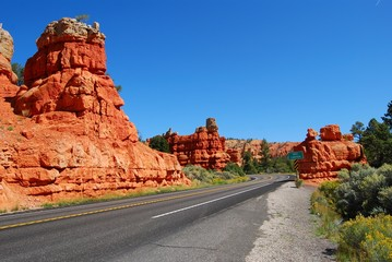 red canyon - bryce canyon