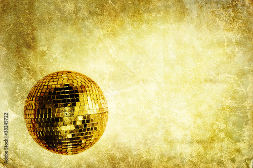 retro disco backdrop