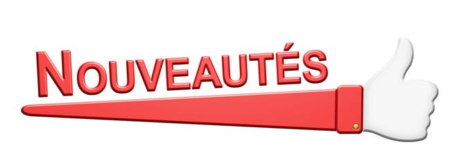 """""""Nouveautés"""""""