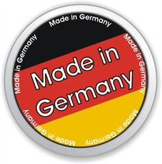bouton made in germany