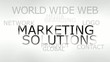 Marketing solutions animation